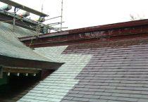 三柱神社(屋根修復・保全)